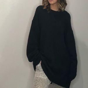 Zara Knit - navy oversized size s